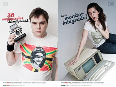 No al Impuestazo! Tecnología Retro