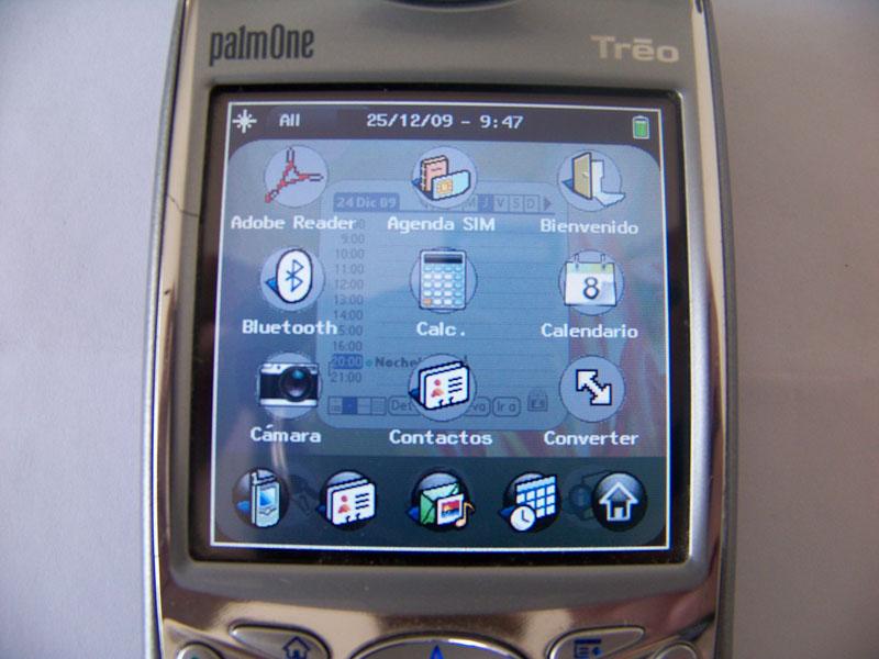 WebOS corriendo en una Palm Treo 650?