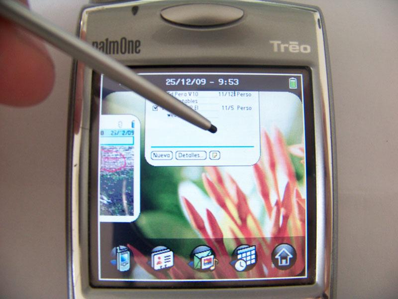 TealOs en mi Palm Treo 650