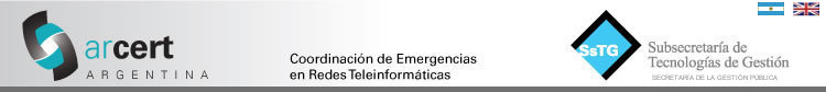 Coordinación de Emergencias en Redes Teleinformáticas