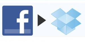 Compartir archivos de dropbox con amigos de  facebook